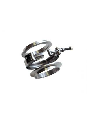 3in T304 Stainless Steel V-Band Flange Assembly