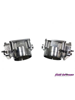Full Blown Billet 72mm Throttle Bodies Nissan R35 GTR