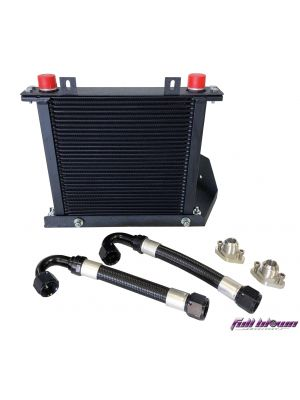 Full Blown Nissan R35 GTR Upgraded Oil Cooler