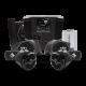 Rockford Fosgate Stage 4 Audio Speaker Kit for Polaris Ranger - RNGR-STAGE4